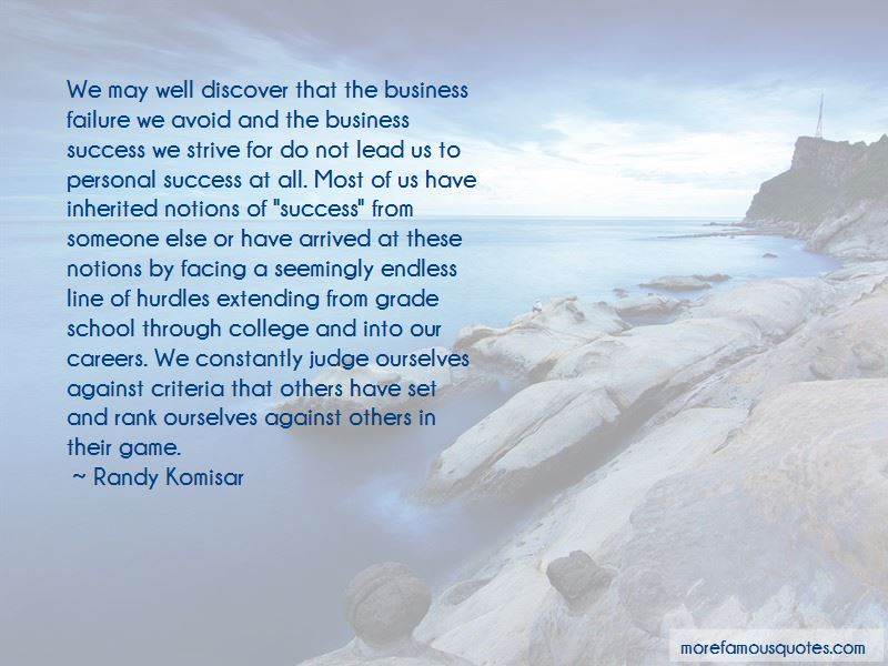 Quotes About Business Success And Failure