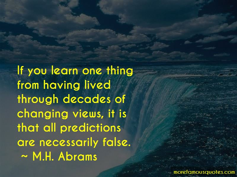 Quotes About Changing Views