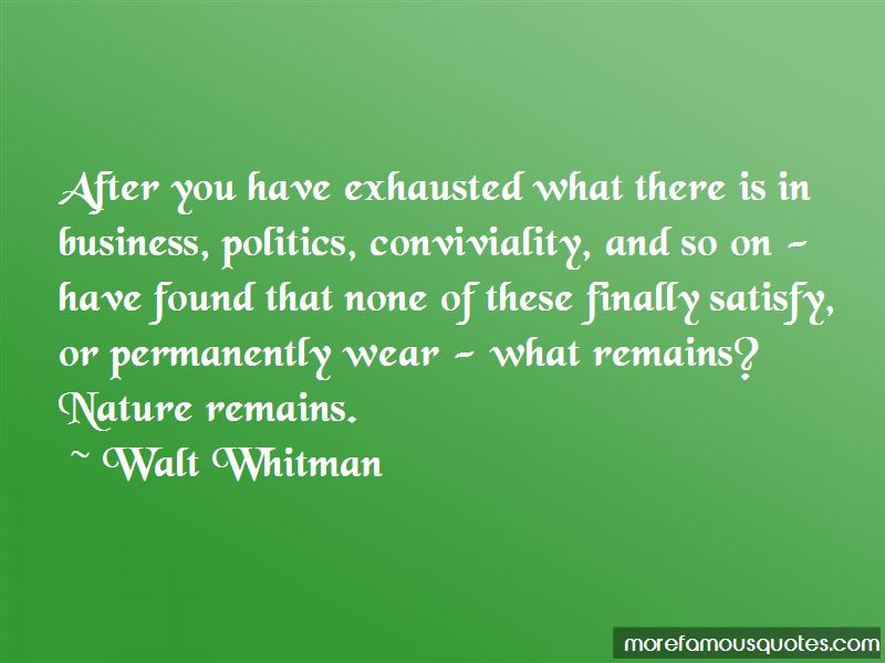 Conviviality Quotes Pictures 2