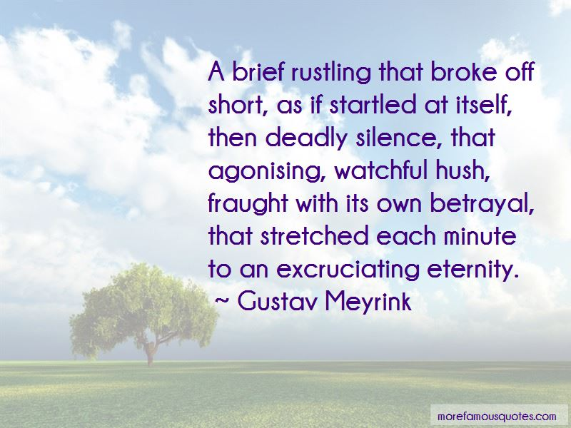 Quotes About Deadly Silence