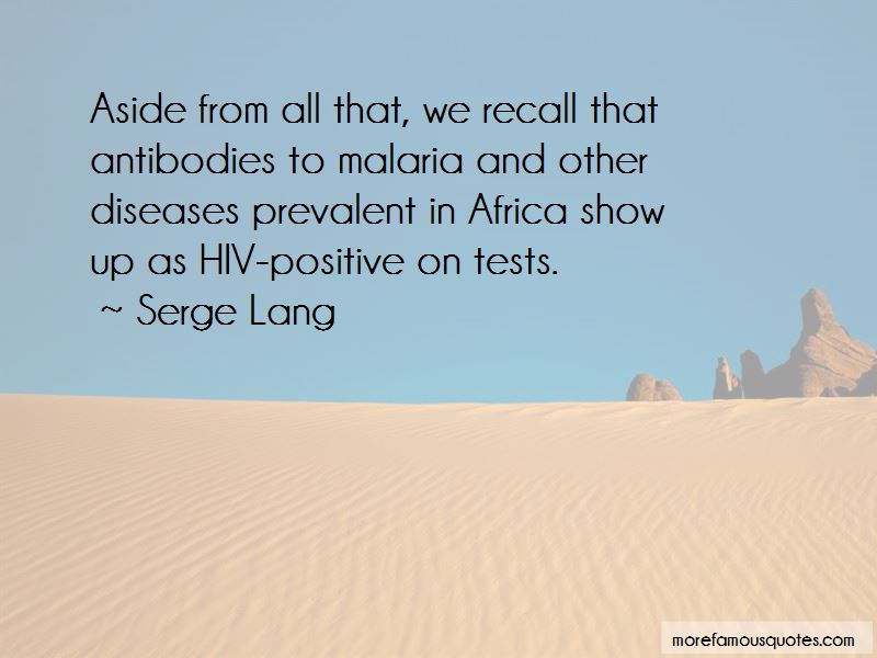 Diseases In Africa Quotes Pictures 3