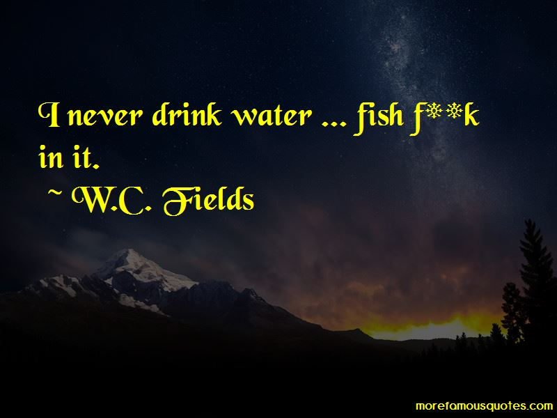 Quotes About Drink Water