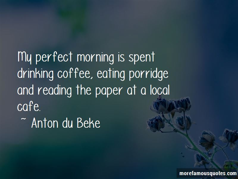 Drinking Coffee In The Morning Quotes Pictures 2