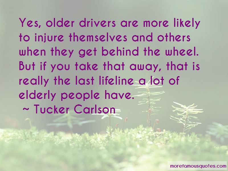 Quotes About Elderly Drivers