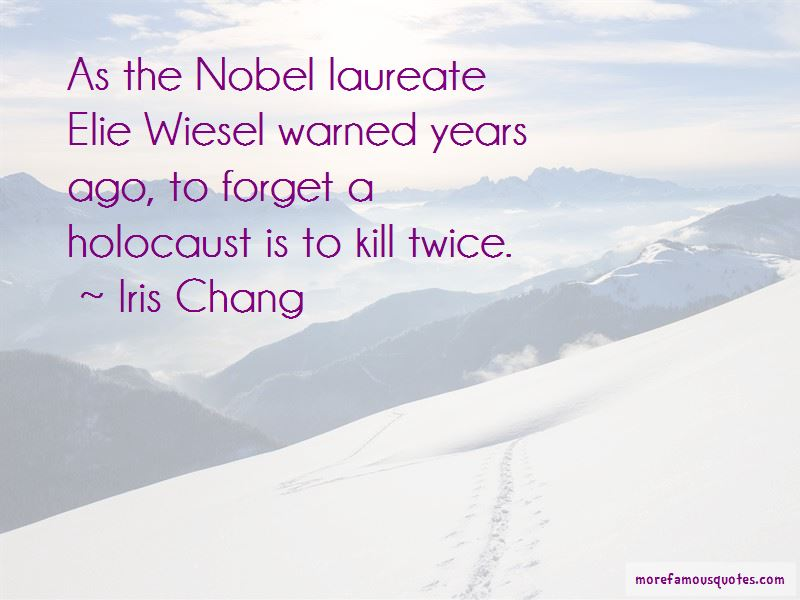 Quotes About Elie Wiesel