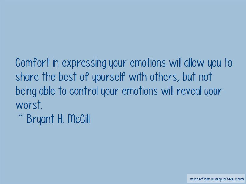 Quotes About Expressing Your Emotions