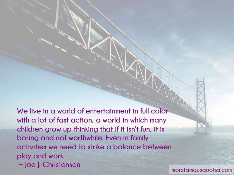 Quotes About Family Activities