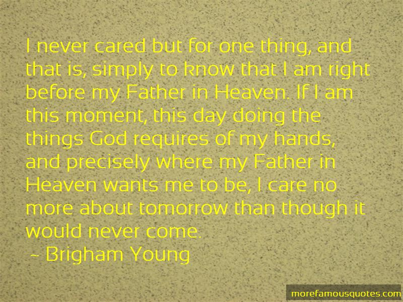 Quotes About Father In Heaven