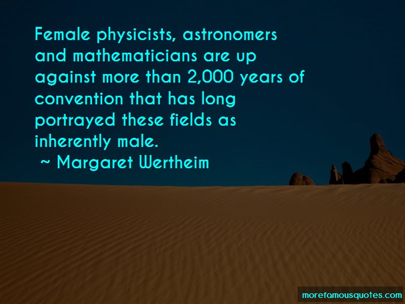 Quotes About Female Mathematicians