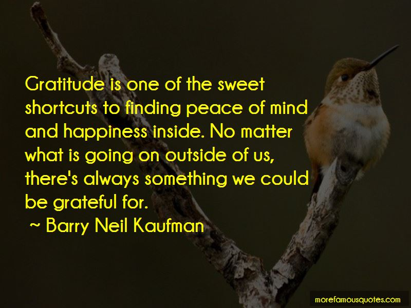 Quotes About Finding Peace Of Mind