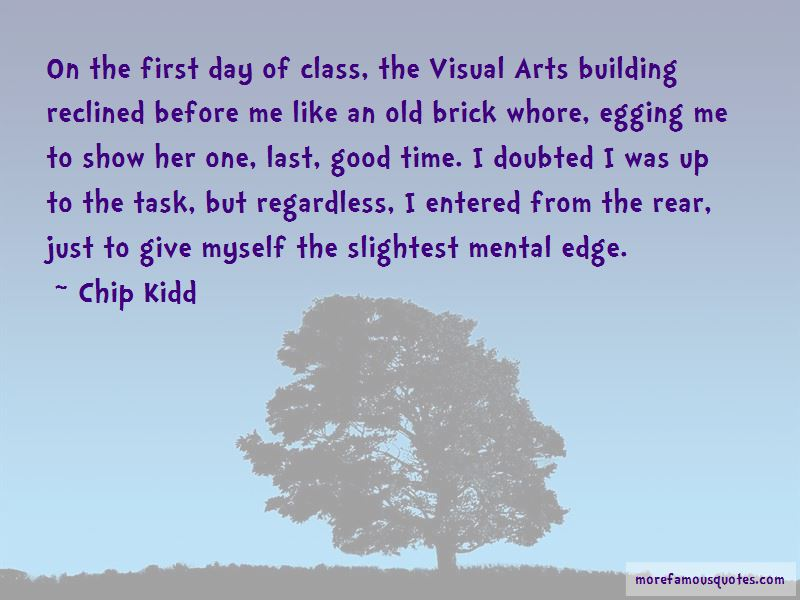 Quotes About First Day Of Class