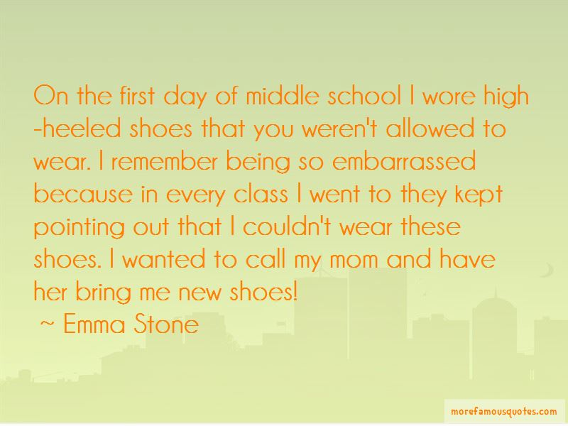 Quotes About First Day Of Middle School: top 2 First Day Of