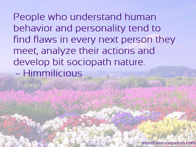 Flaws In Human Nature Quotes Pictures 3