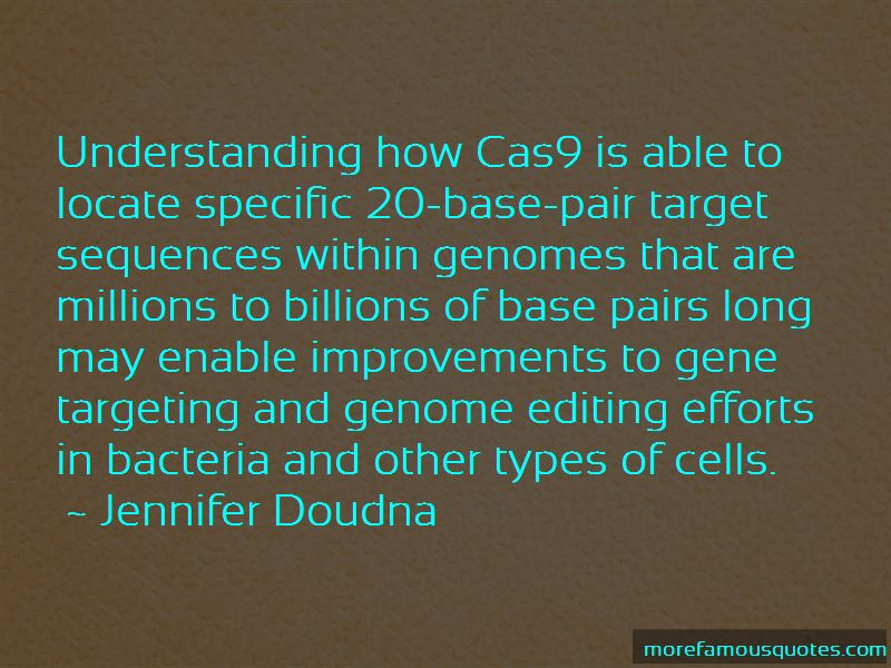 Quotes About Gene Editing