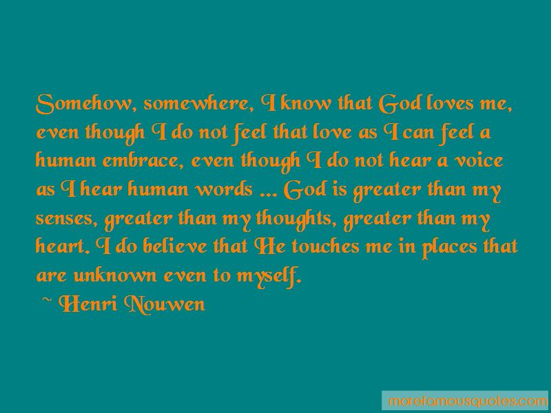 Quotes About God Loves Me