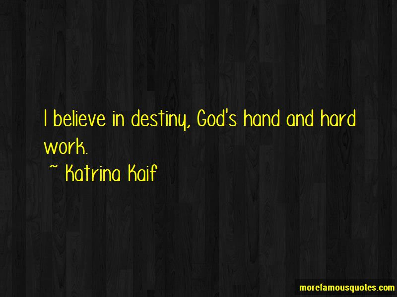 Quotes About God's Hand