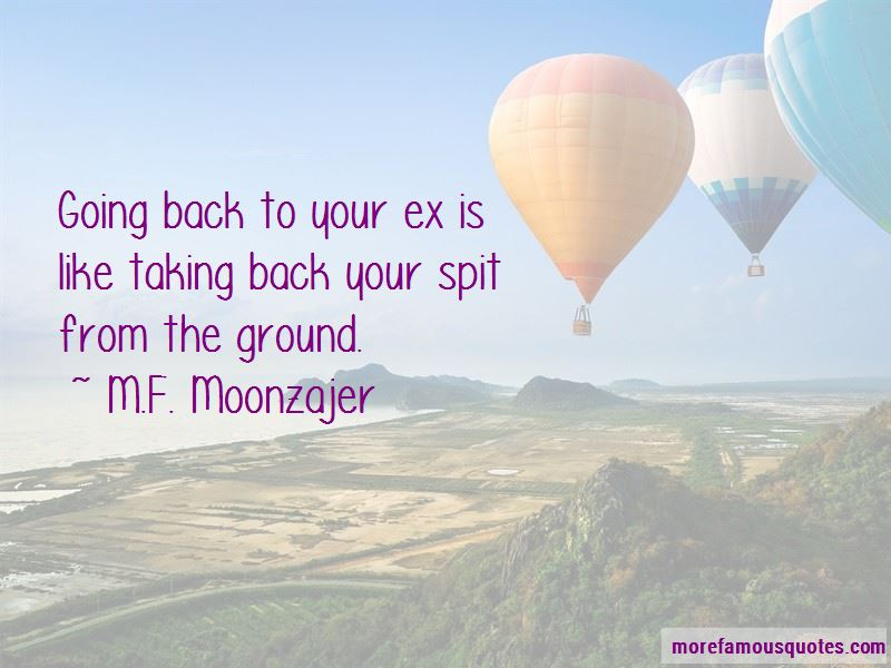 Quotes About Going Back To Your Ex