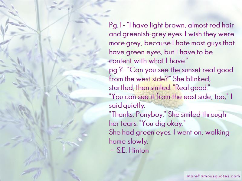 Quotes About Guys With Brown Eyes