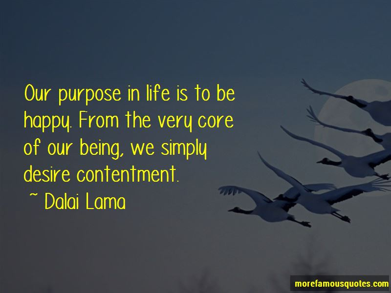 Happy Life And Contentment Quotes Pictures 3