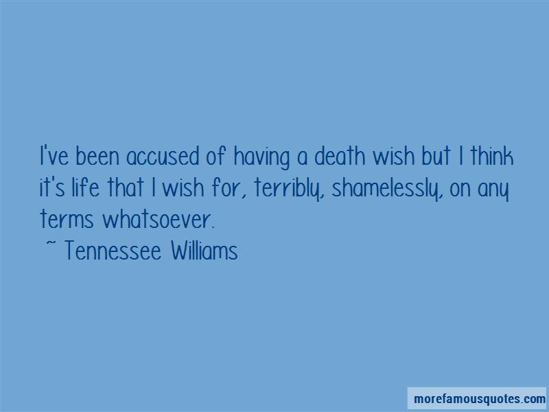 Quotes About Having A Death Wish