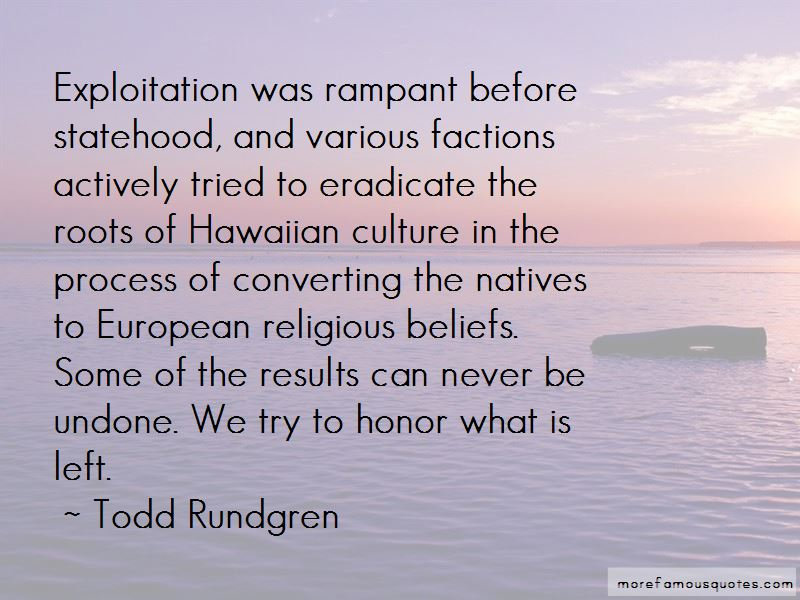 Quotes About Hawaiian Culture