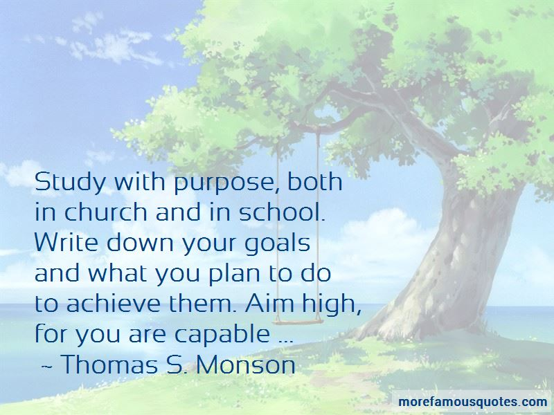 High School Goals Quotes Pictures 3