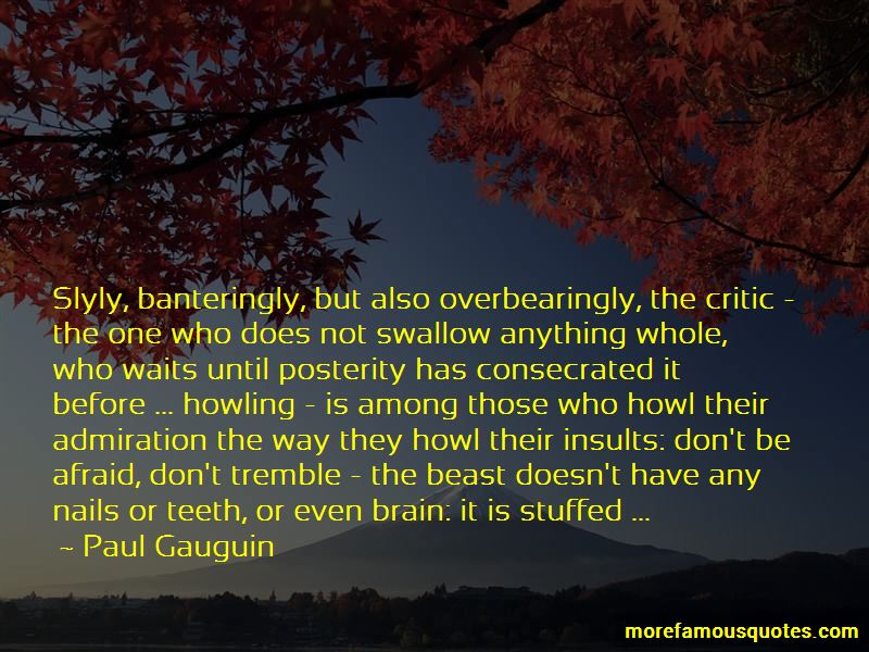 Quotes About Howling