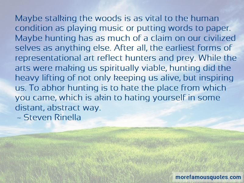 Quotes About Hunters And Prey