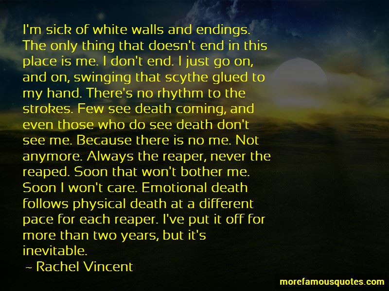 Quotes About Inevitable Endings