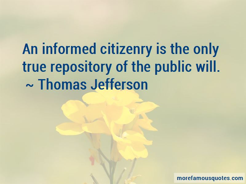 Informed Citizenry Quotes Pictures 2