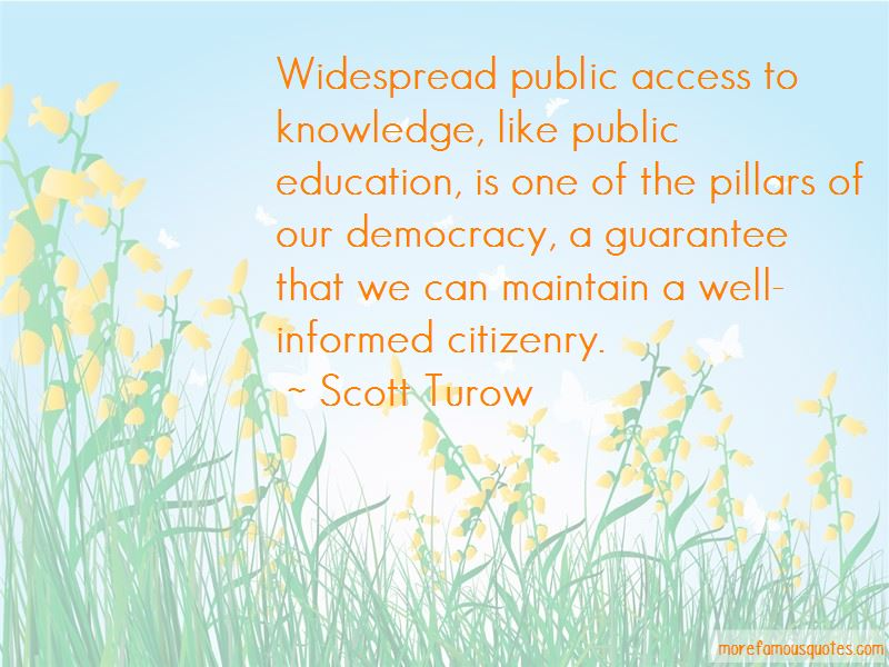 Informed Citizenry Quotes Pictures 4
