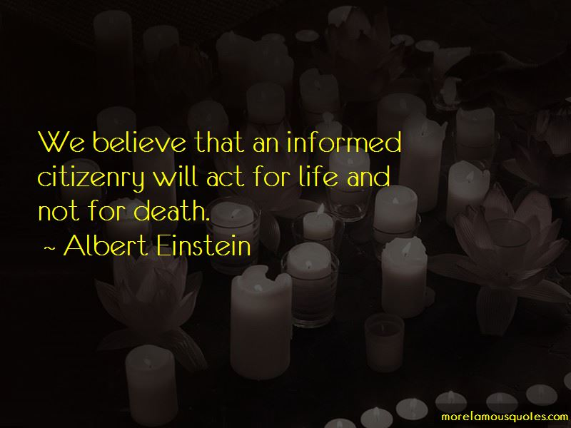 Quotes About Informed Citizenry