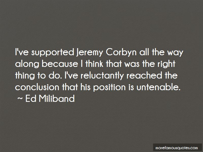 Quotes About Jeremy Corbyn