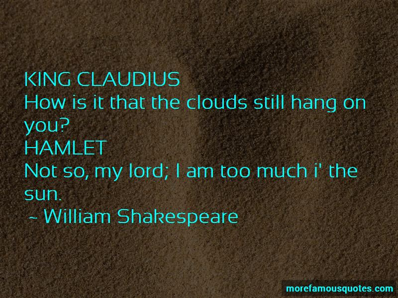 Quotes About King Claudius