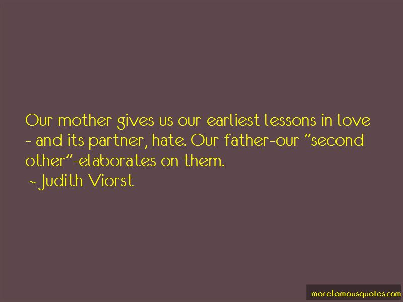 Quotes About Lessons In Love