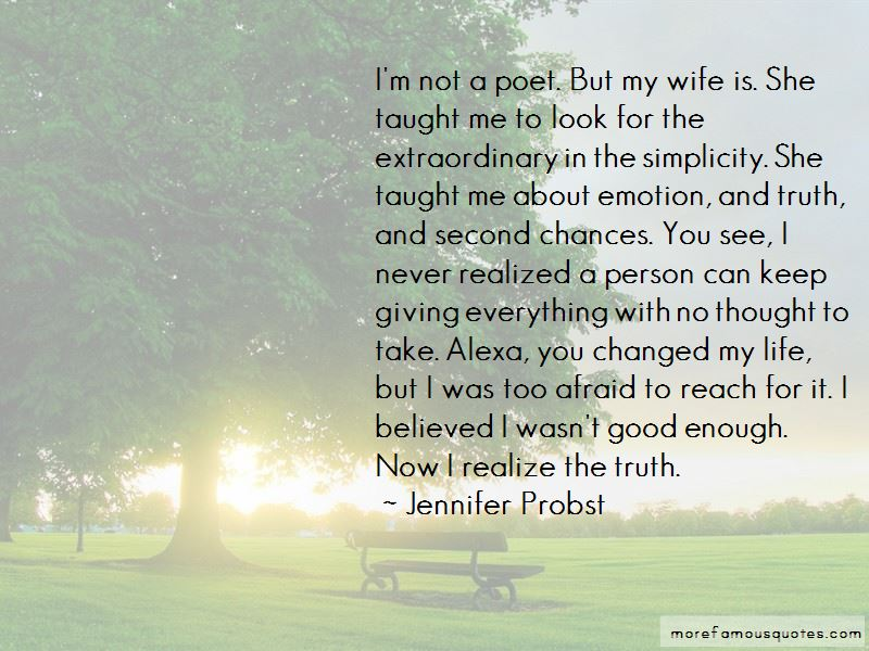 Quotes About Life Giving Second Chances: top 1 Life Giving