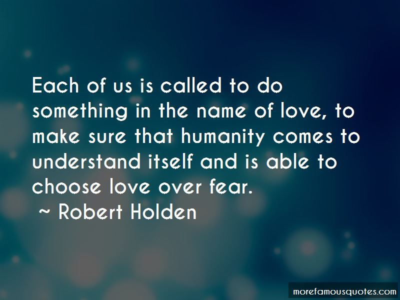 Quotes About Love Over Fear
