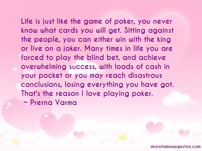 Love Playing Quotes Pictures 2