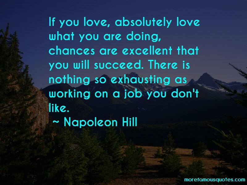 Love What You Are Doing Quotes Pictures 3