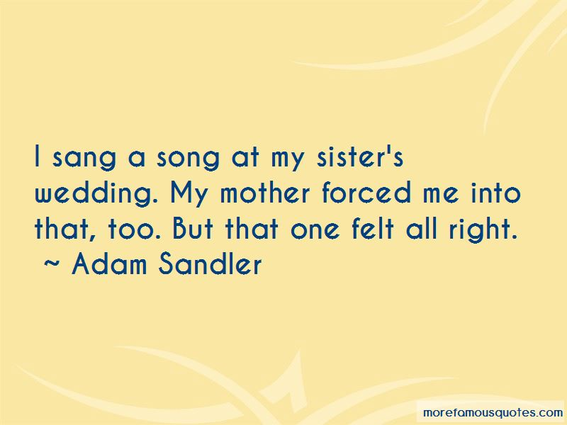 My Sister's Wedding Quotes Pictures 2