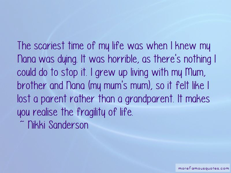 Quotes About Nana Dying: top 1 Nana Dying quotes from famous ...