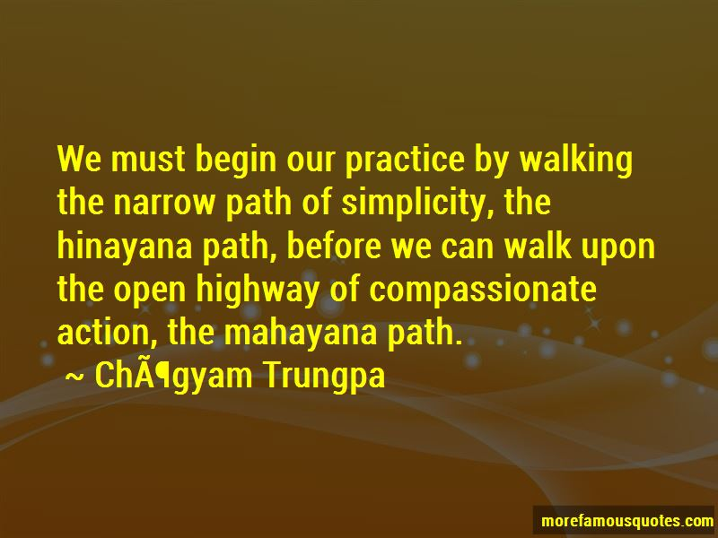 Narrow Path Quotes Pictures 2