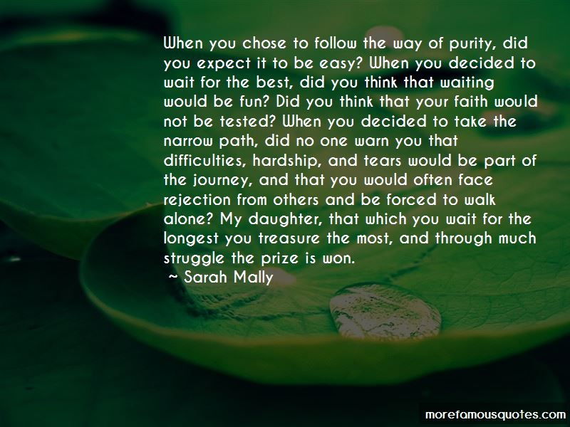 Quotes About Narrow Path
