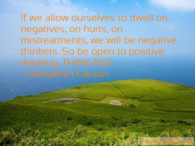 Quotes About Negative Thinkers
