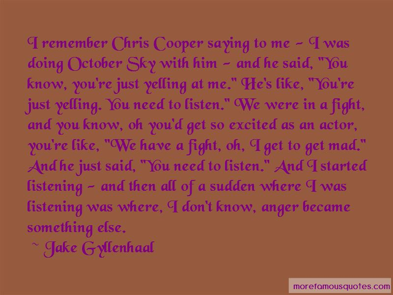 Quotes About October Sky