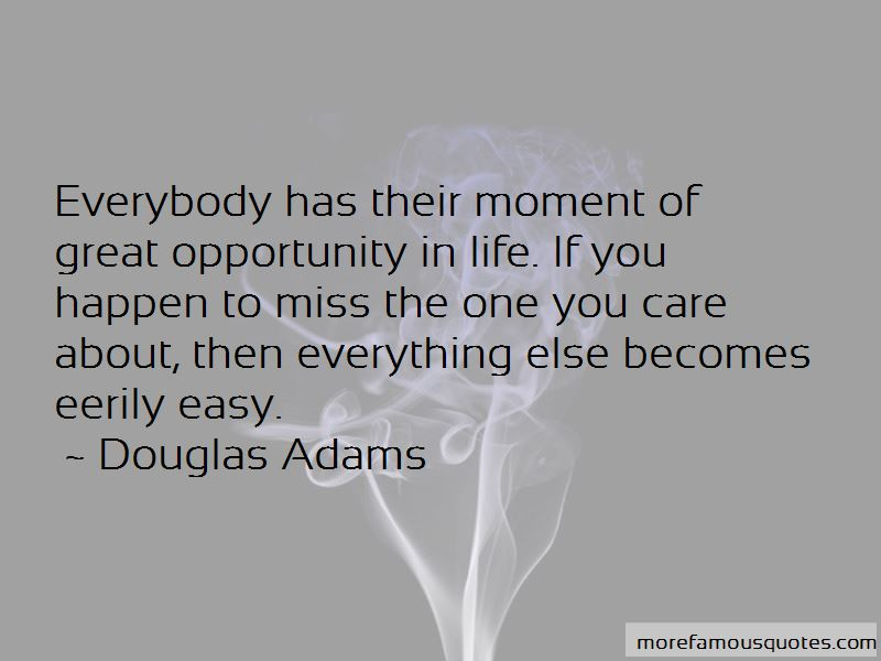 Opportunity In Life Quotes Pictures 4