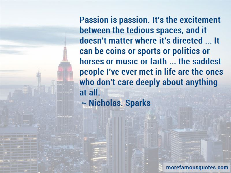 Quotes About Passion In Sports