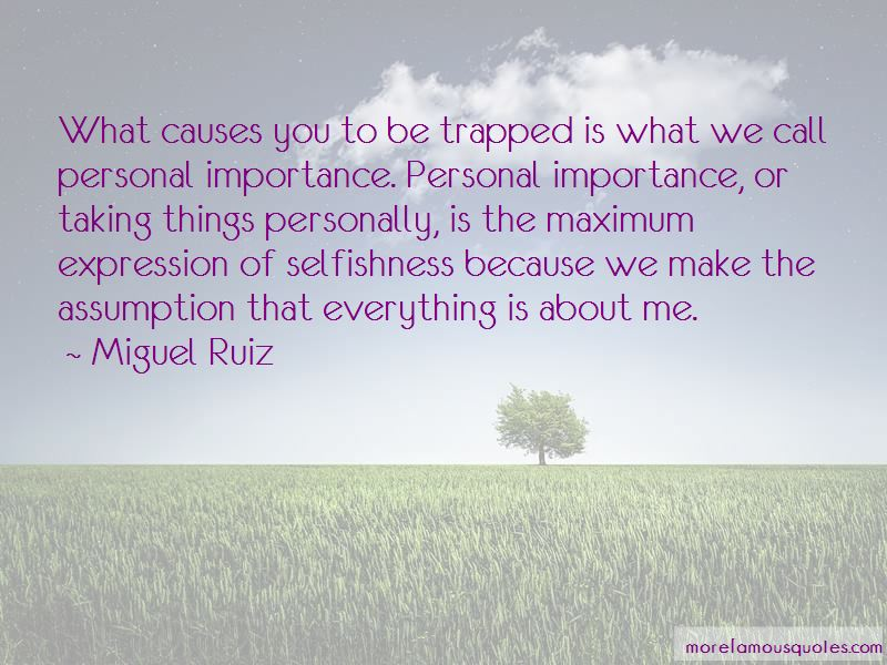 Personal Importance Quotes Pictures 4