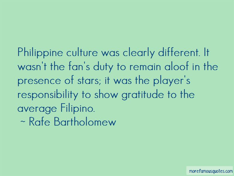Quotes About Philippine Culture