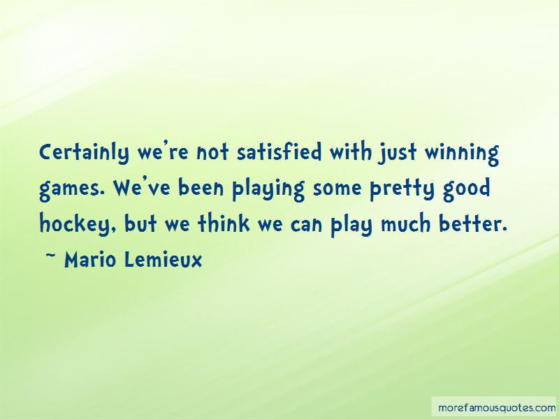 Quotes About Playing Games Better